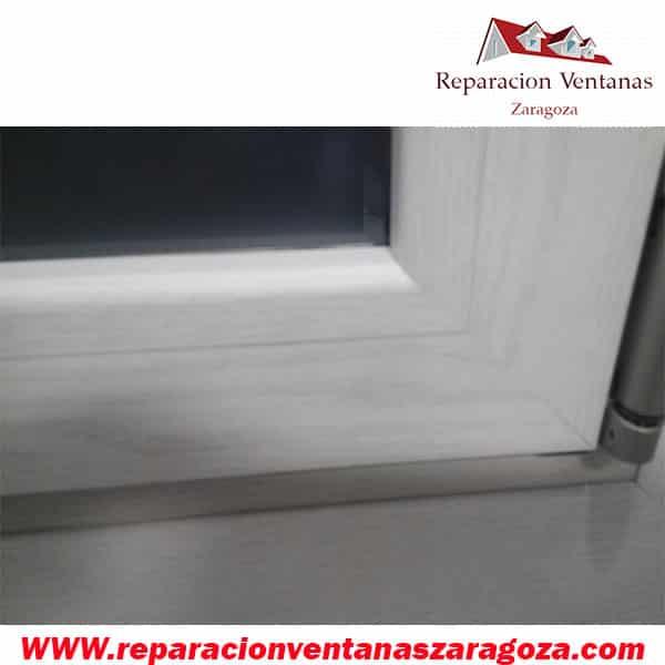 Marco ventana aluminio 1 reparacion ventanas zaragoza for Reparacion de ventanas de aluminio