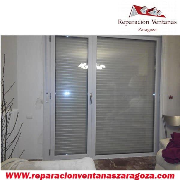 Reparación de ventanas persianas de seguridad Zaragoza