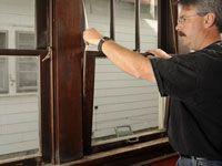 Reparación de cordones de las ventanas de guillotina