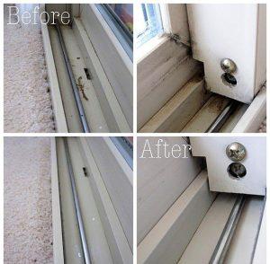 Reparación guías ventanas viejas zaragoza
