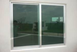 Reparación ventanas aluminio en casa