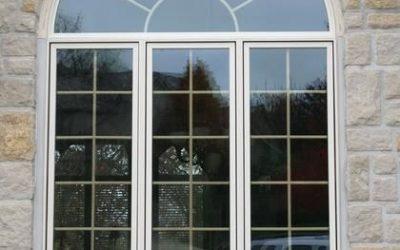 Reparación de las ventanas media luna