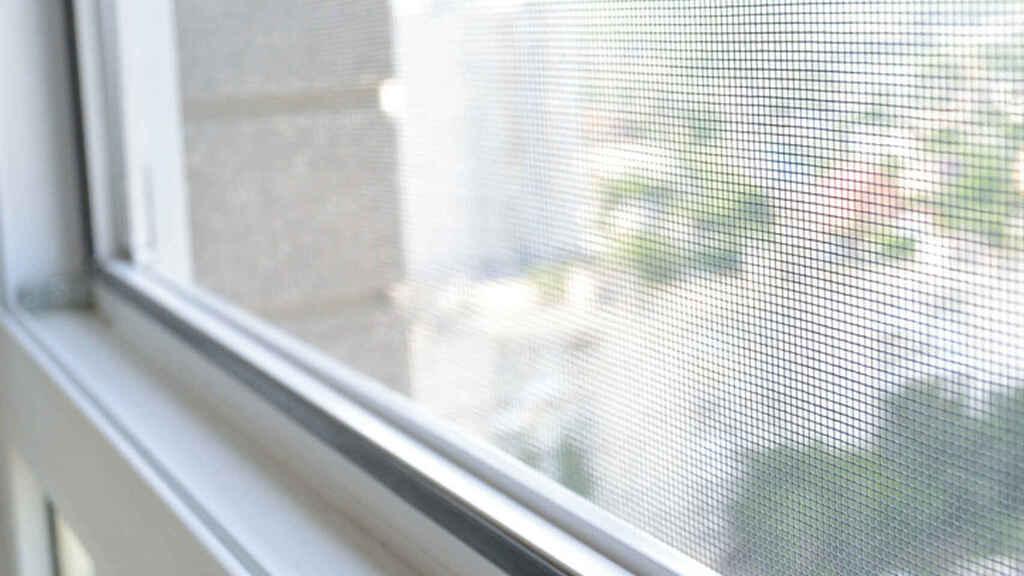 Mosquitera casera para ventanas